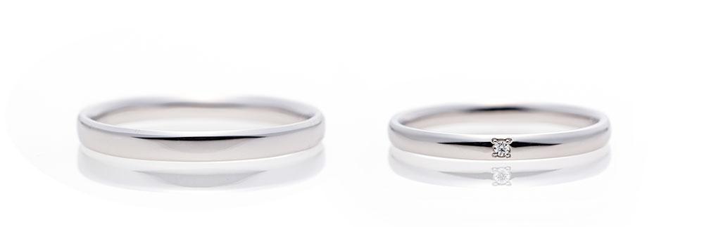 セミオーダーメイドの結婚指輪(マリッジリング)