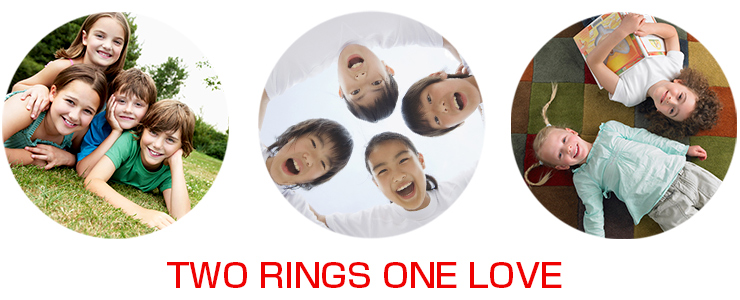 TWO RINGS ONE LOVE