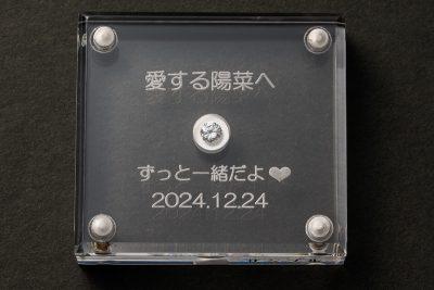 オリジナルアクリルダイヤモンドケース