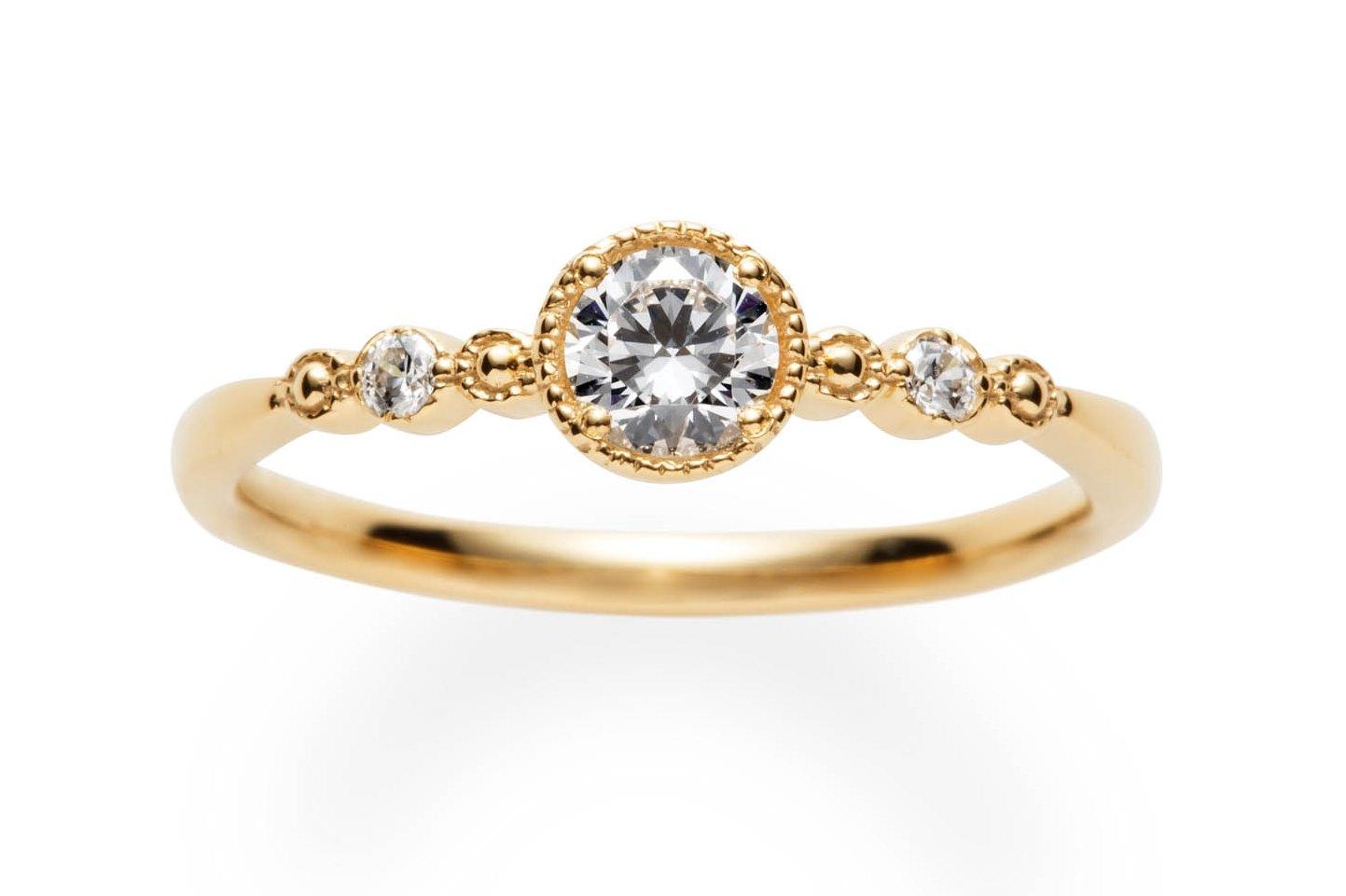 メルスィ婚約指輪