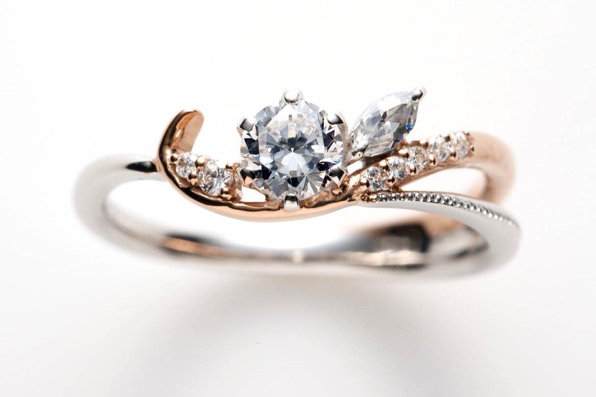 カール婚約指輪